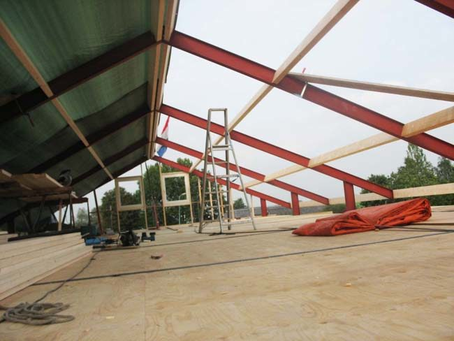 dakconstructie, staal constructie